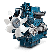 Kubota-V3 Series Water-Cooled- 59.1-82.2HP