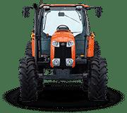 Kubota-Tractors-M-M100GX CAB Tractor