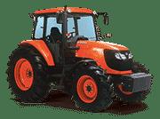 Kubota-Tractors-M-M108DC CAB Tractor