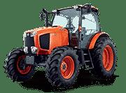Kubota-Tractors-M-M110GX CAB Tractor