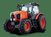 Kubota-Tractors-M-M135GXS CAB Tractor + Front Suspension