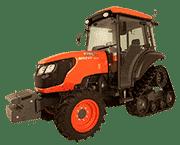 Kubota's M8540NPK Narrow Rear Tractor